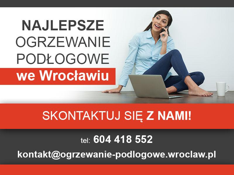 Ogrzewanie podłogowe Wrocław